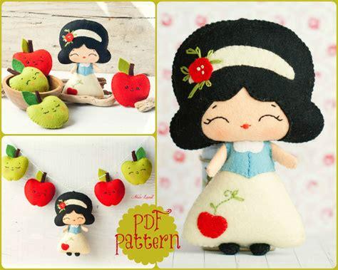 snow white pattern free pdf the snow white garland pattern fairy tale pattern plush