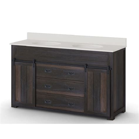 6 ft vanity 2 sinks hutton double vanity barnwood 3 foot vanity with