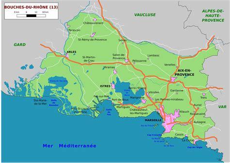 la carte et le carte des bouches du rh 244 ne communes d 233 taill 233 e relief routes