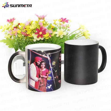 promotional custom 11oz sublimation color changing magic coffee mug porcelain ceramic mugs view supplier photo mugs photo mugs wholesale suppliers