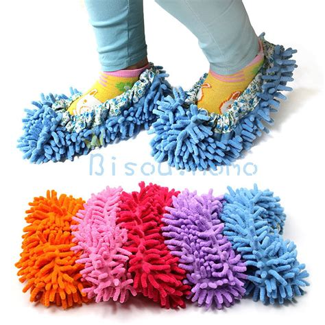 mop slippers 1pc dust mop slippers shoes bathroom office kitchen floor