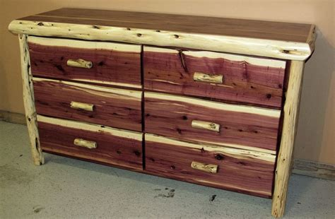 cedar juniper 6 drawer dresser barn wood furniture