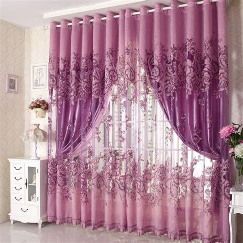bedroom fancy curtains in white color of special design elegant purple curtains for bedroom atzine com