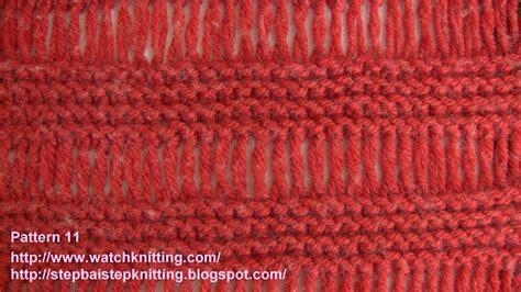 basic knit stitch basic knitting stitches knitting