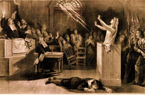 Spectral Gallows salem witch trials
