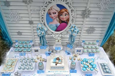 frozen themed party kelso frozen birthday party ideas photo 7 of 18 catch my party