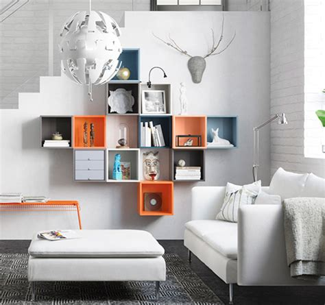 ikea bedroom displays eket collection ikea flexible and colorful storage