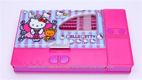 Jual Kotak Musik Panda jual tempat pensil jumbo hello pensil smart