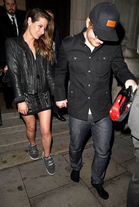 ed sheeran married ed sheeran gives his girlfriend the sneakers right off his