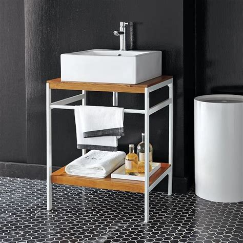 west elm bathroom vanity west elm bathroom vanity 2 x 2 bath console modern