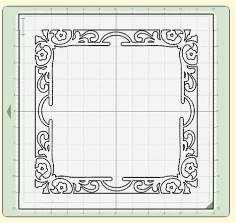 cricut place card template cricut diy 12 quot boarders check this out for use with