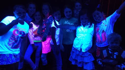 glow in the dark lights free glow in the dark dance party for kids presented by