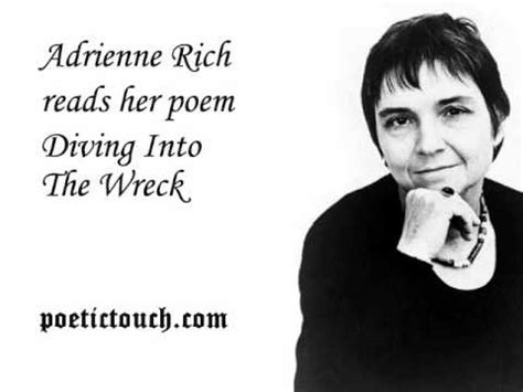 Adrienne Rich Diving Into The Wreck Essay by Adrienne Rich Diving Into The Wreck Poetry Poets Watches The O Jays And Diving