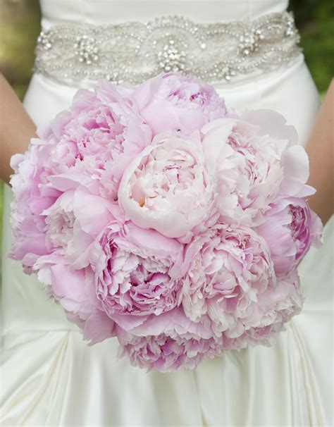 pink peonies wedding what is the most popular wedding flower peony bella