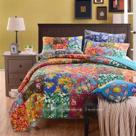 American Style Patchwork Quilts - american style 100 cotton applique patchwork quilt