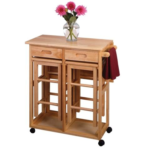 Kitchen Island Tables With Stools Winsome Square Drop Leaf Kitchen Island Table With Stools