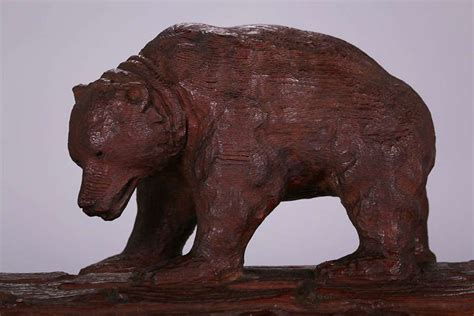 ca arts crafts redwood grizzly bear box