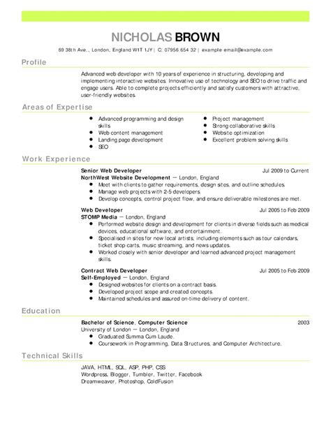 resume template openoffice downloadable chronological resume template open office