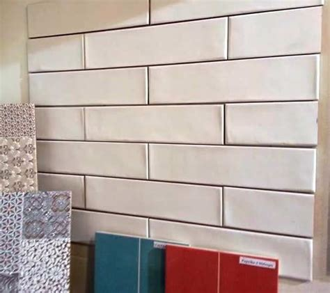 new range of subway tile this handmade textured