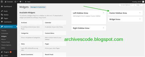membuat sidebar html cara membuat sidebar pada wordpress archives code
