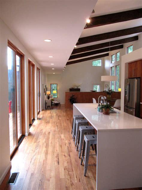 courtyard house modern kitchen atlanta by bork design inc