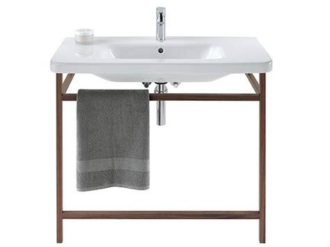 duravit console durastyle walnut console sink by duravit design matteo