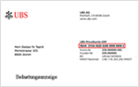 ubs bank code iban bic where can i find my iban ubs switzerland