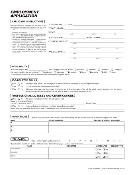 layout application forms 20 application form sles for job events businesses