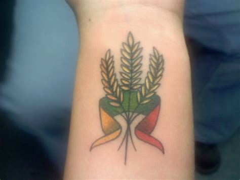 lithuanian tattoo my heritage lithuanian my and got