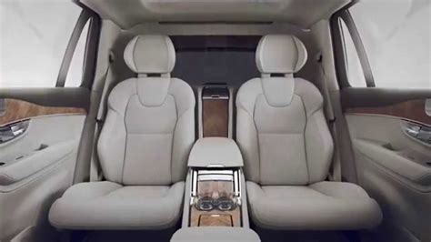 luxurious volvo xc excellence    individual rear seats youtube