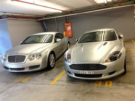 Aston Martin Vs Bentley by Aston Martin Db9 Vs Bentley Continental Gt