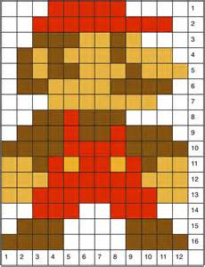 8 Foot Square Rug 8 Bit Mario Grid Pictures To Pin On Pinterest Pinsdaddy