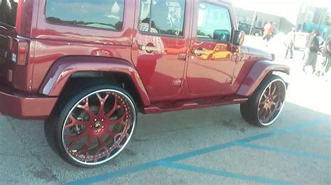 Brandywine Jeep Kandy Brandywine Jeep Wrangler On 26 Inch Forgiato