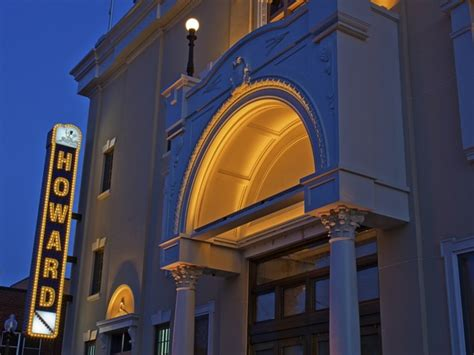 dcs historic howard theatre opens  chapter october