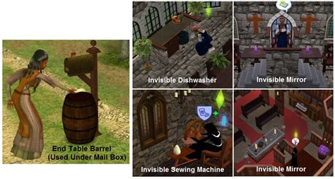 Mod The Sims Gwrych Medieval Mod The Sims Shadows Of Gwrych Medieval Neighborhood 45