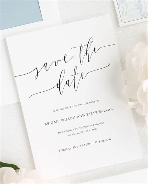Save The Date Wedding Invitations
