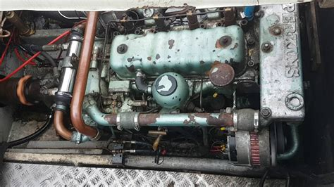boat engine gearbox perkins 4108 with borg warner gearbox boat engine youtube