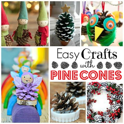 pine cone crafts for kids red ted art s blog
