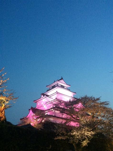 aizuwakamatsu castle sakura light  annual market  aprilmay   fukushima