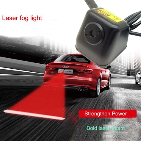 Laser Fog Light 1 Car Anti Collision Led Laser Fog Lights Taillight Anti Fog