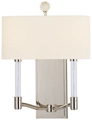 waterloo workbench with light waterloo 2 light wall sconce in polished nickel