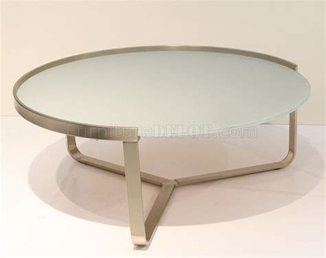 frosted glass table tops clara coffee table w frosted glass top by whiteline