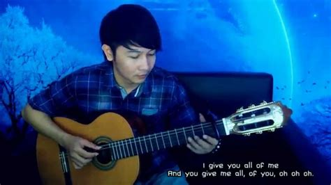 tutorial nathan fingerstyle john legend all of me nathan fingerstyle youtube