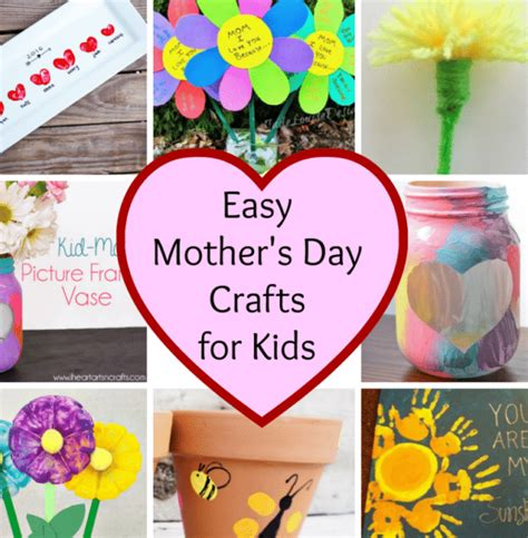 easy mothers day crafts easy s day crafts stylish for