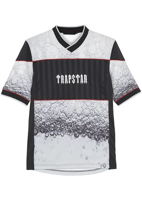 Printed T Shirts For Mens Uk by Trapstar Evolution Printed T Shirt In Gray For Lyst