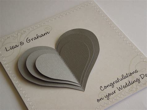 Handmade Wedding Cards - handmade wedding cards handmade wedding congratulations