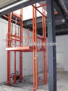 Lift platform hydraulic lift elevator used cargo elevator product on