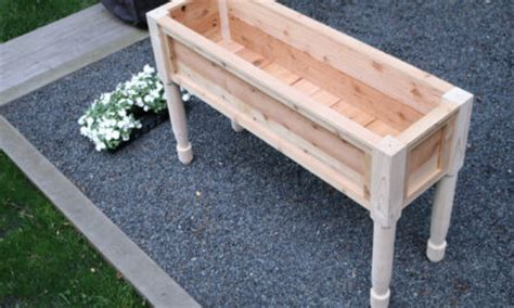 stand up planter box design plans jon peters home