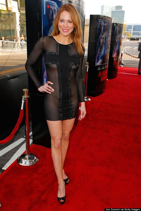 rules of celebrity hunted 2017 maitland ward s sheer dress causes quite a stir huffpost