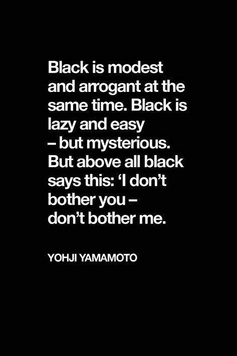 the color black means black will always be the new black quotes about